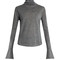 Wool, silk and cashmere-blend roll-neck sweater