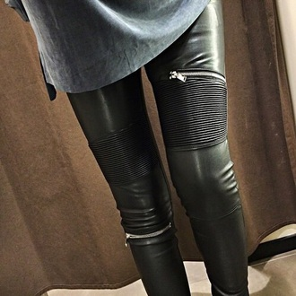 jeans black leather skinny jeans classy beautiful