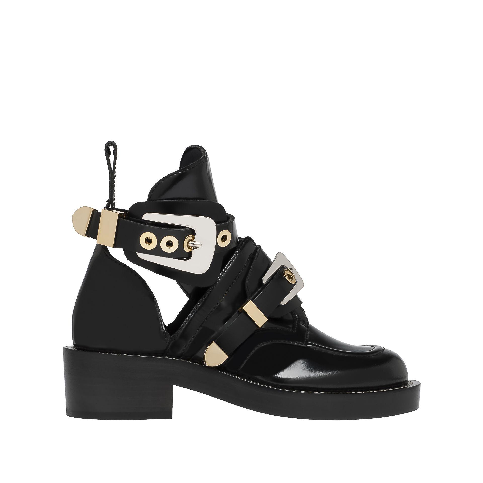 Balenciaga Ceinture Ankle Boots Balenciaga - Ankle Boots Women color Black - Shoes Balenciaga