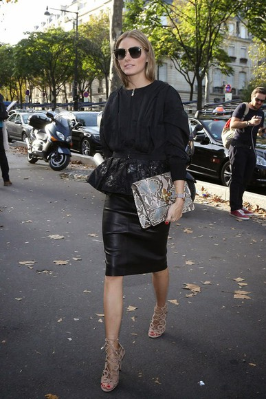 olivia palermo fashion week 2014 fall outfits jacket