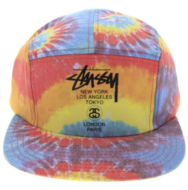 tie dye rainbow indie hippie gunge brand stussy