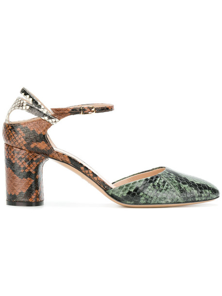 CASADEI heel snake women king pumps leather shoes