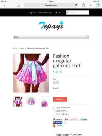 skirt galaxy dress galaxy shirt fashion denim jacket style blue skirt pink dress violet
