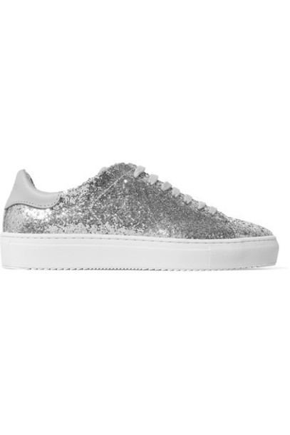 Axel Arigato sneakers silver leather shoes