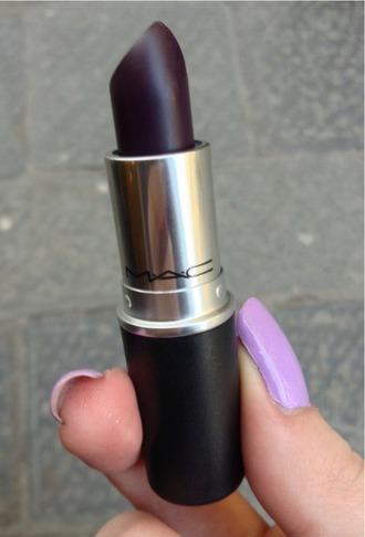 sunglasses make-up mac lipstick dark lipstick lips lipstick style
