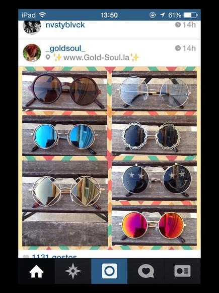 round sunglasses sunglasses
