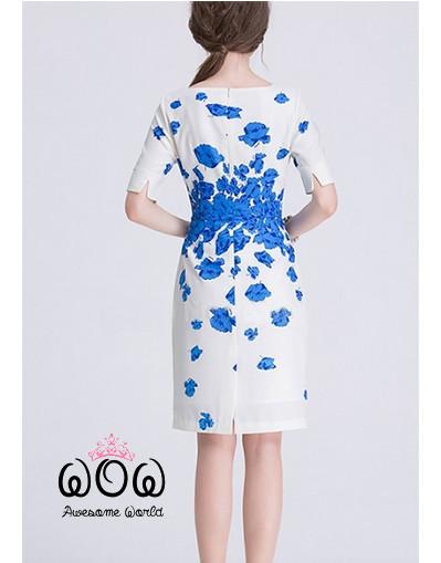 Elegant celebrity dress