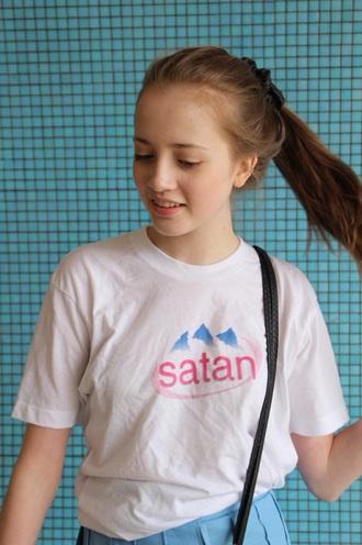 t-shirt satan kawaii cute japan tumblr grunge soft grunge aesthetic style 90s style