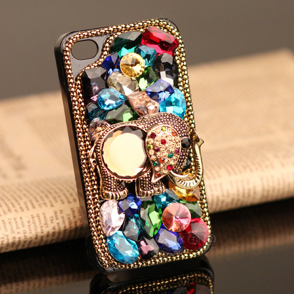 jewels iphone phone cover bling style fashion women