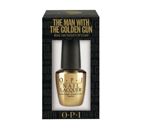 nail polish opi gold