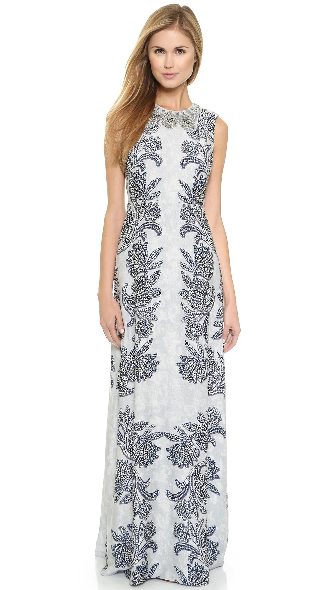Bcbgmaxazria chloey gown