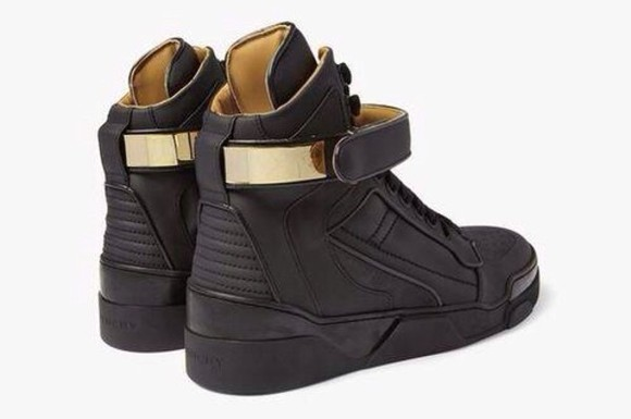 givenchy shoes black shoes