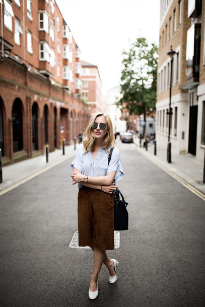 framboise fashion blogger shirt shorts shoes bag jewels sunglasses