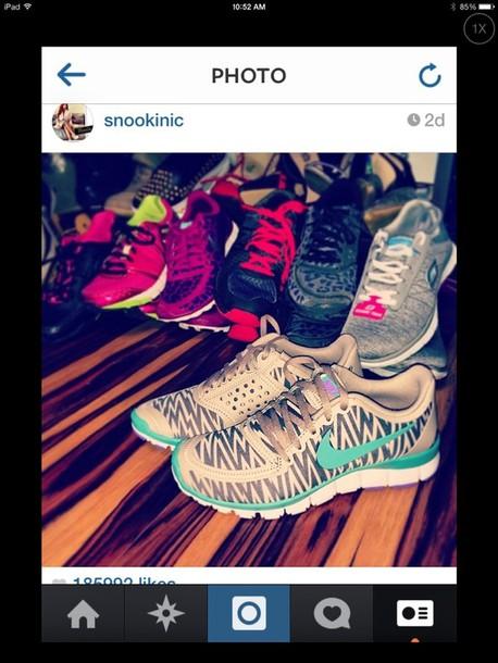 shoes zebra print nike running shoes