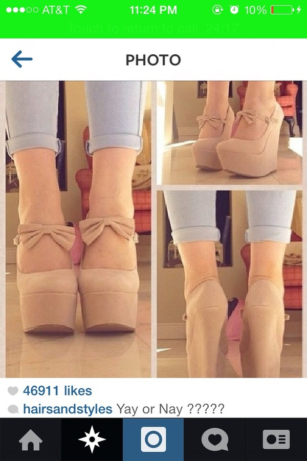 shoes wedges heels