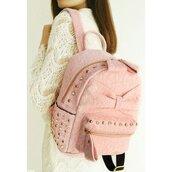 bag,fashion,backpack,pastel pink