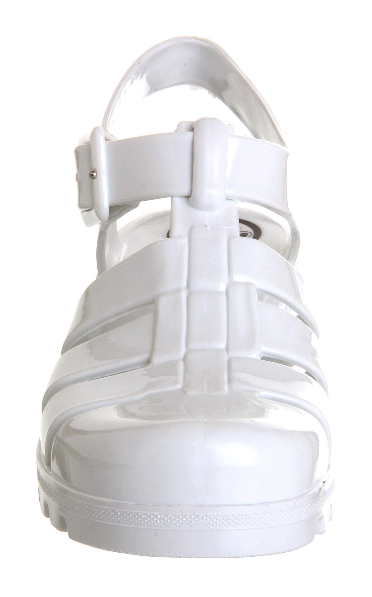 811223b86e99 JuJu Babe Hi Juju Jelly White - Sandals
