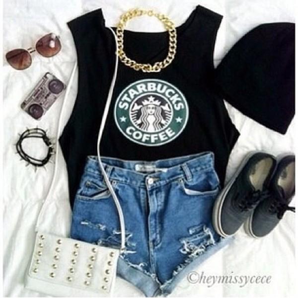 shirt starbucks coffee
