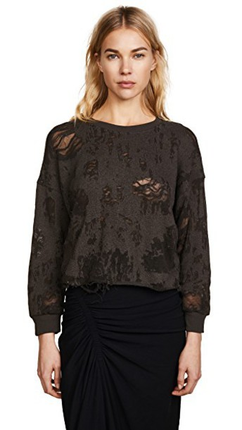 sweatshirt charcoal sweater