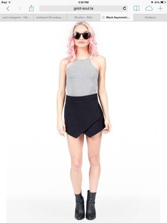 skirt assymetrical skirts black skirt