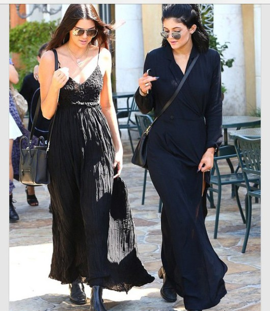 dress kylie jenner black dress