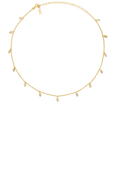 necklace metallic gold jewels