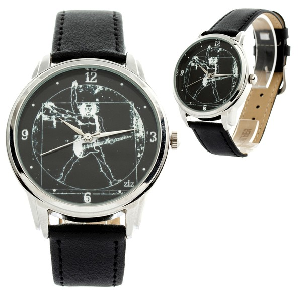 jewels guitar guitarist watch watch ziz watch ziziztime black n white