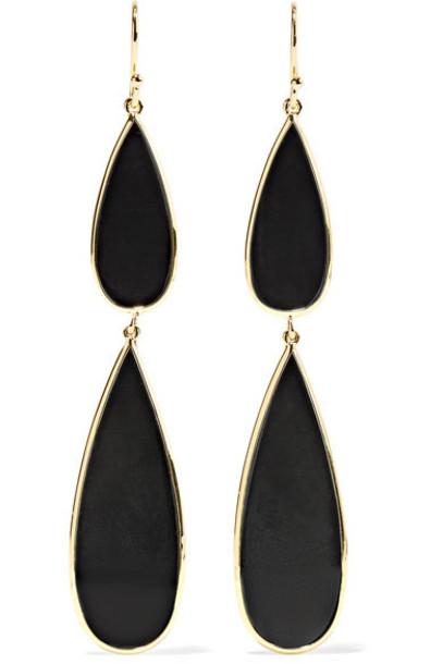 Ippolita rock candy earrings gold jewels