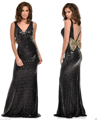 dress pretty prom vintage style stylish girly sequin dress sequins maxi dress prom dress red carpet dress evening dress party dress black dress bodycon dress fishtail dress mermaid prom dress prom gown long dress elegant glamour luxury