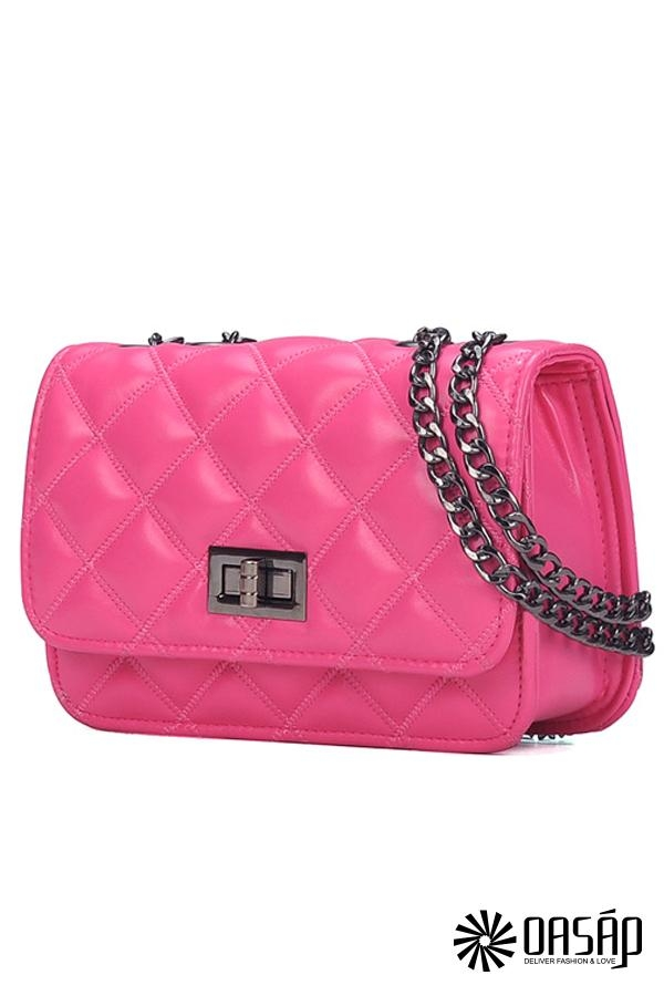 Exquisite Quilted Shoulder Bag - OASAP.com