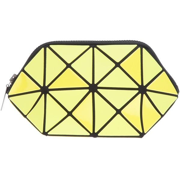 BAO BAO ISSEY MIYAKE geometric paneled clutch - Bao Bao by I... - Polyvore