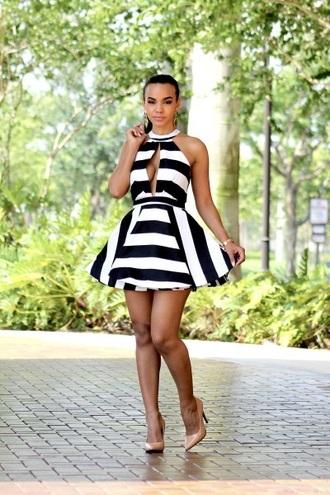 dress black dress white dress striped dress mini dress