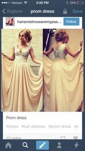 dress,prom dress,long,nude,sequins,long prom dress,pretty,glitter dress,silk dress,v neck,long prom dress chiffon,sequin dress,tan,silver,sparkle,sweater