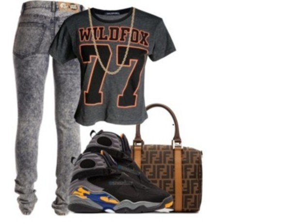 40337f92b6 shirt air jordan jeans dope clothes t-shirt cute back to school bag nice  swag
