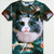Fashion Cute Mens 3D Animal Stellar Space Galaxy Round Neck Top Tee T Shirts | eBay