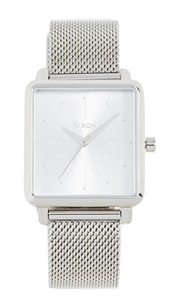 Nixon watch silver jewels