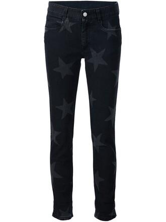 jeans print black