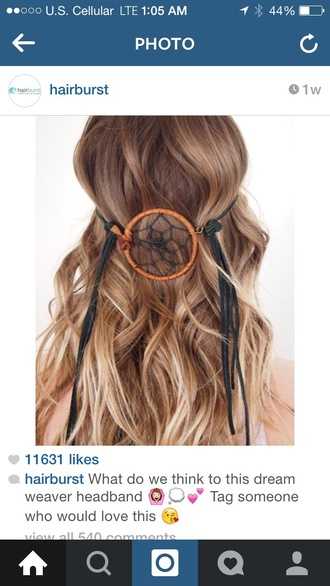 hair accessories dreamcatcher