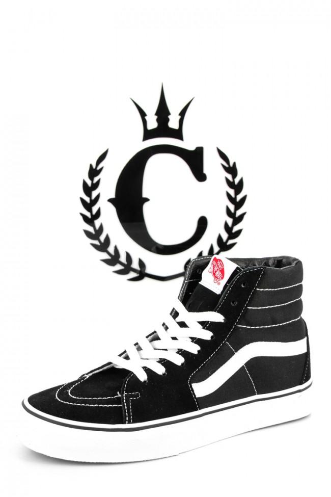 VANS Sk8 HI Top Black/black/white | Culture Kings Online Store