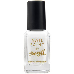Barry M Nail Paint - Matt White