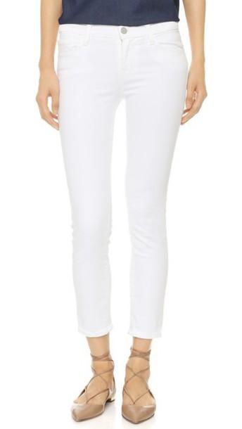 J BRAND jeans blanc