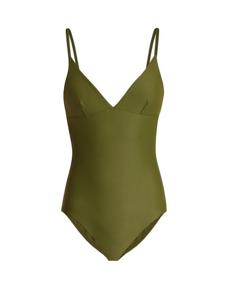 MATTEAU khaki swimwear