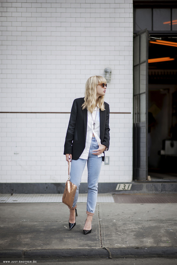 just another me jeans shirt jacket shoes bag jewels sunglasses