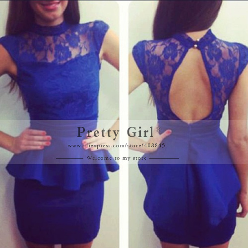 Aliexpress.com : buy vestido de festa elegant navy blue lace mermaid prom dresses 2015 new sexy v neck backless long sleeve evening gowns party dress from reliable dresses prom dress suppliers on pretty girl trade co., ltd