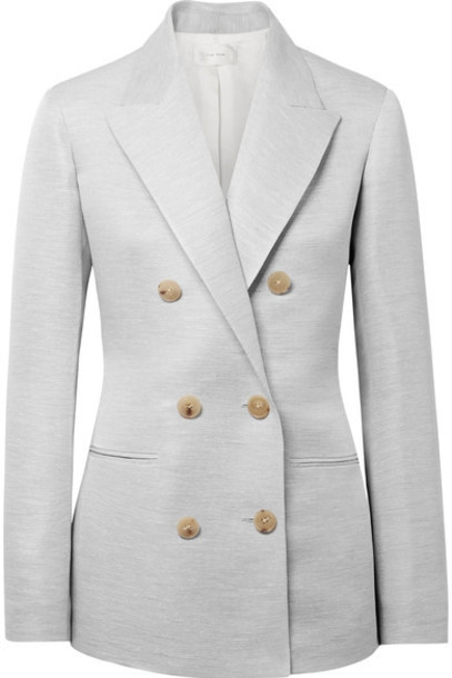 The Row blazer silk jacket