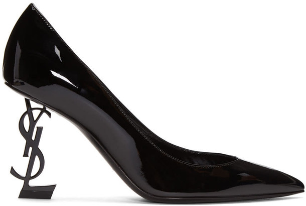 Saint Laurent heels black shoes