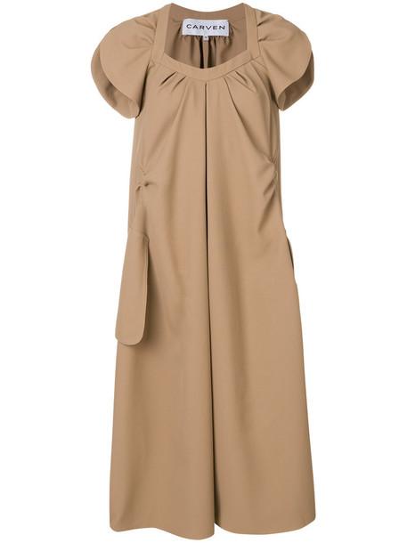 Carven dress women brown