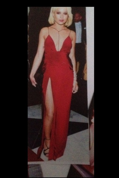 skinny skinny dress red dress