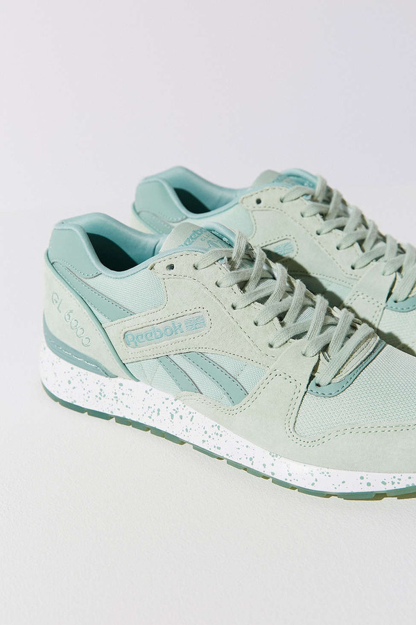 ad864c7b6c116 shoes pastel sneakers sneakers mint urban outfitters Reebok sports shoes Reebok  GL 6000 ...