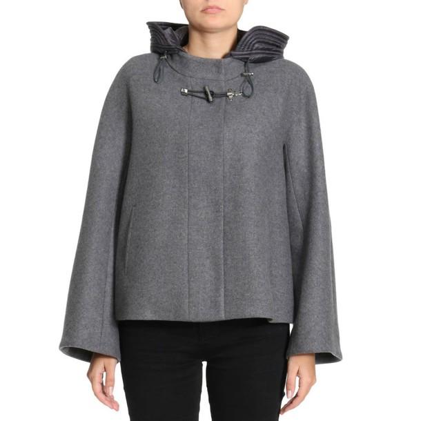 FAY jacket women grey